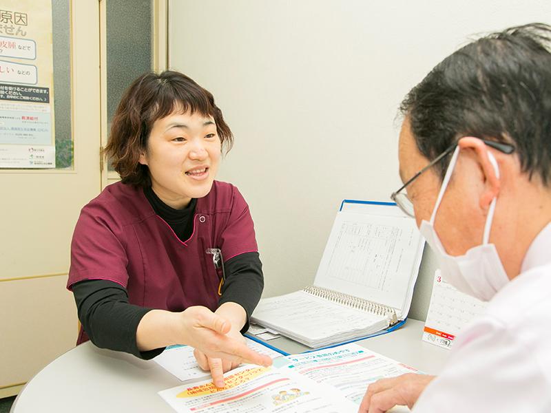 成人病院での診療